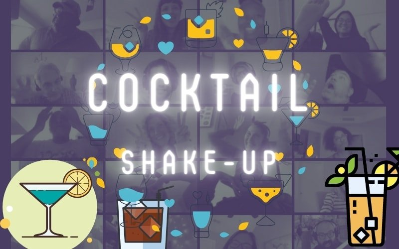 Virtual Cocktail Party banner