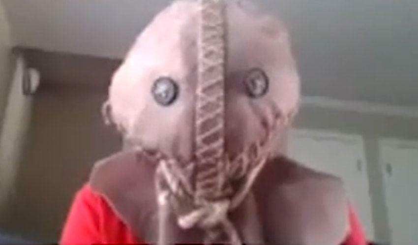scary virtual costume