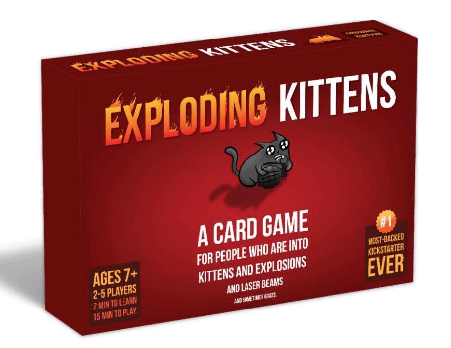 exploding kittens gift