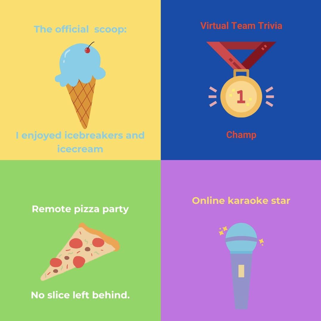 virtual orientation week badges