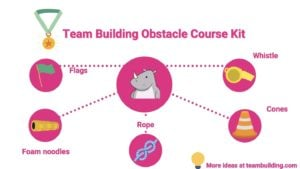 team building obstacle course kit