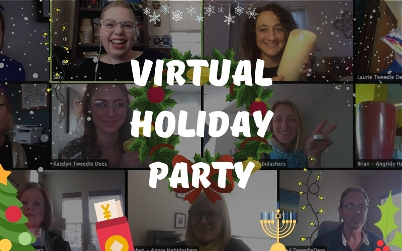 32 Fun Virtual Holiday Party Ideas In 2020 Santa Approved