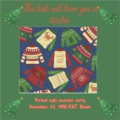 ugly sweater party invitation sample 2