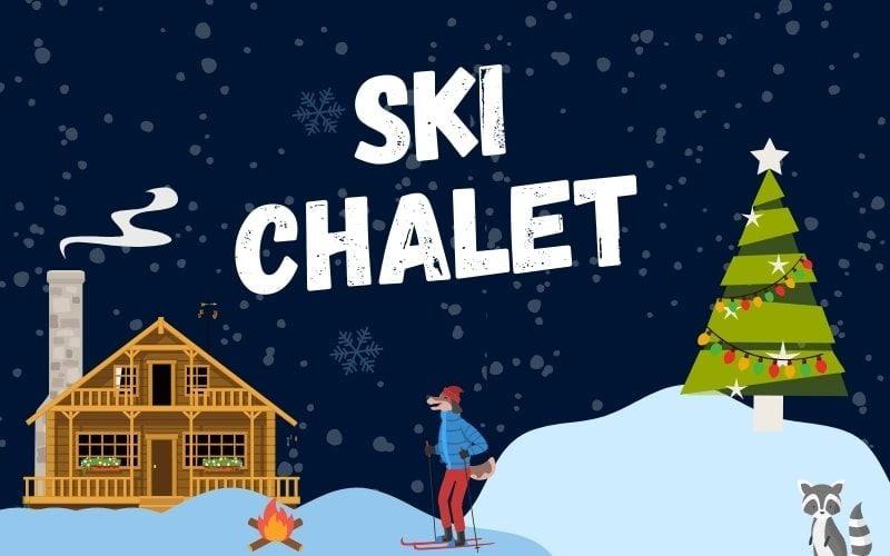 Ski Chalet banner