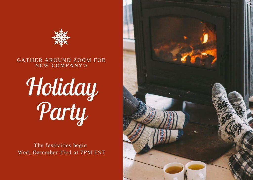 cozy invitation sample