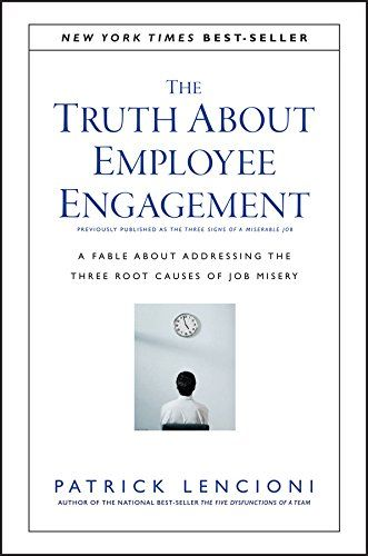 The Truth About Employee Engagement cover