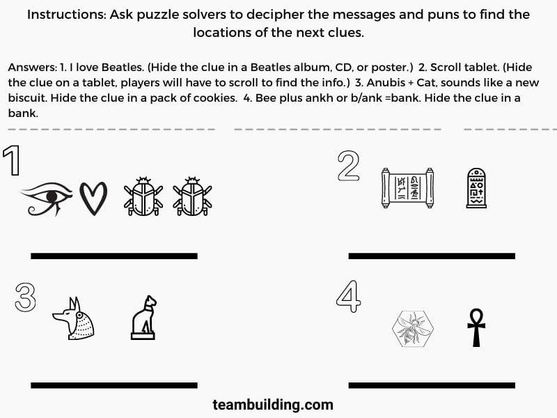 escape room puzzle example 2