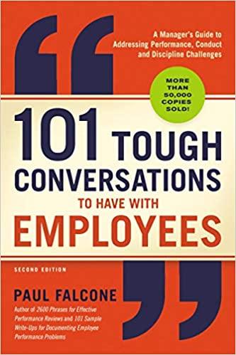 101 Tough Conversations