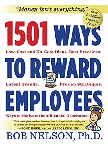 1501 Ways to Reward Employees