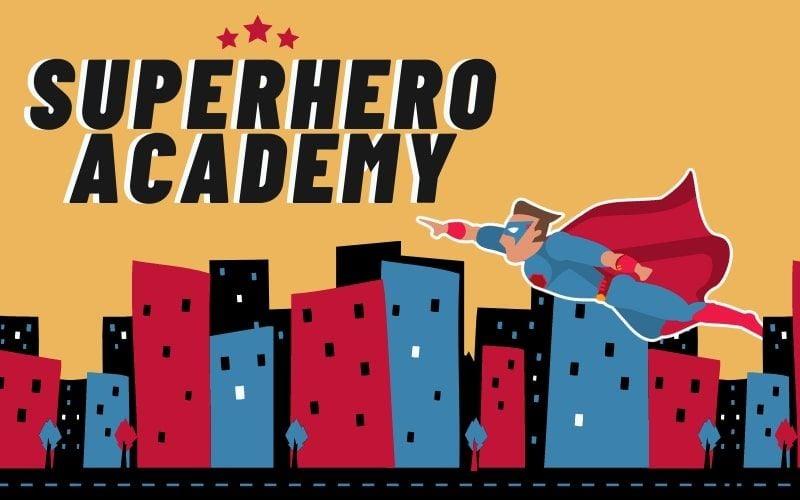 Superhero Academy banner