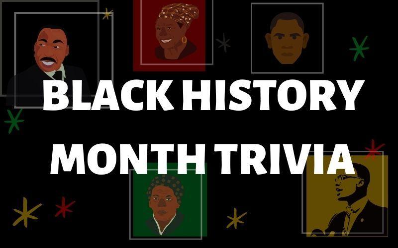 Black History Month Trivia Banner