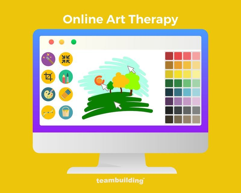 Online Art Therapy Banner