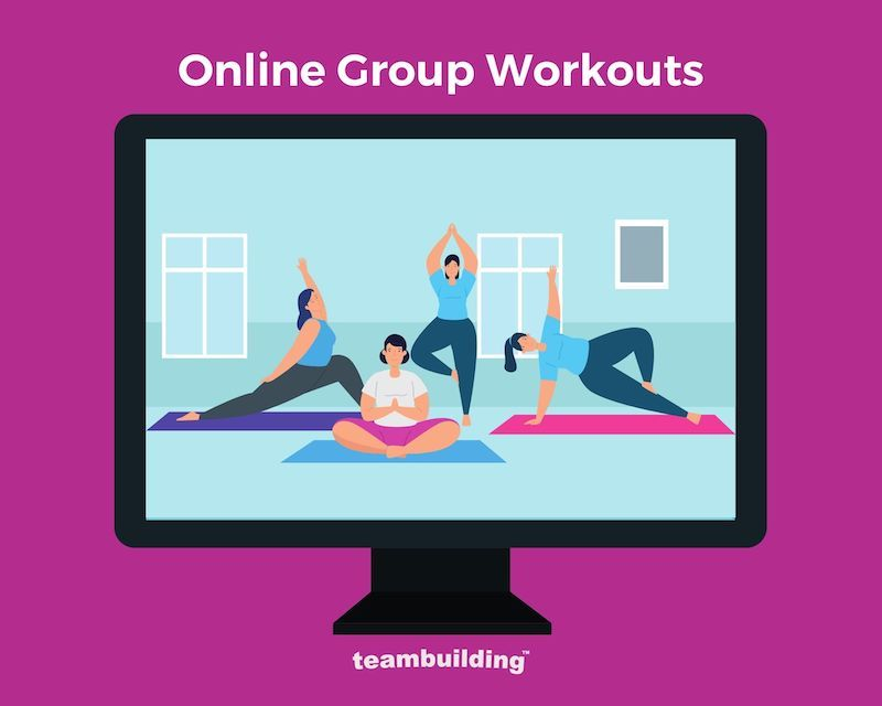 Online Group Workouts Banner