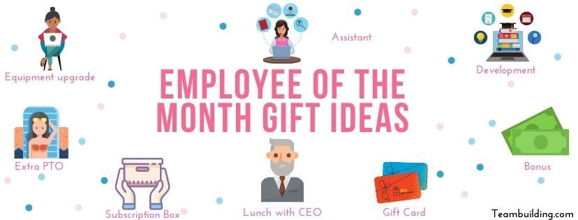 Employee of the Month Gift Ideas Banner