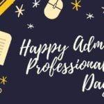 happy admin professionals day admin day ecard