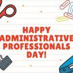 happy administrative professionals day ecard