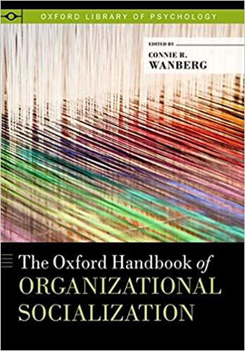 The Oxford Handbook of Socializational Organization