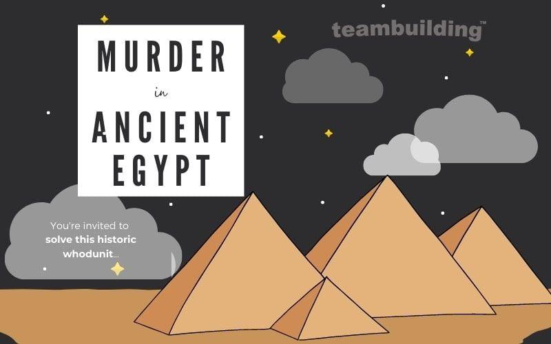Murder in Ancient Egypt banner