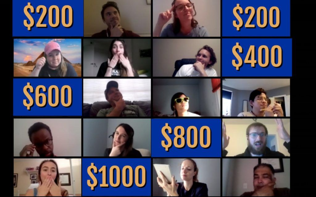 Interactive Jeopardy