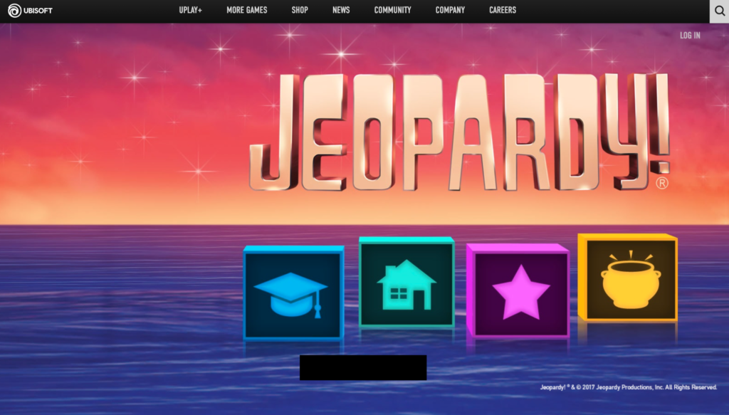 Jeopardy computer game