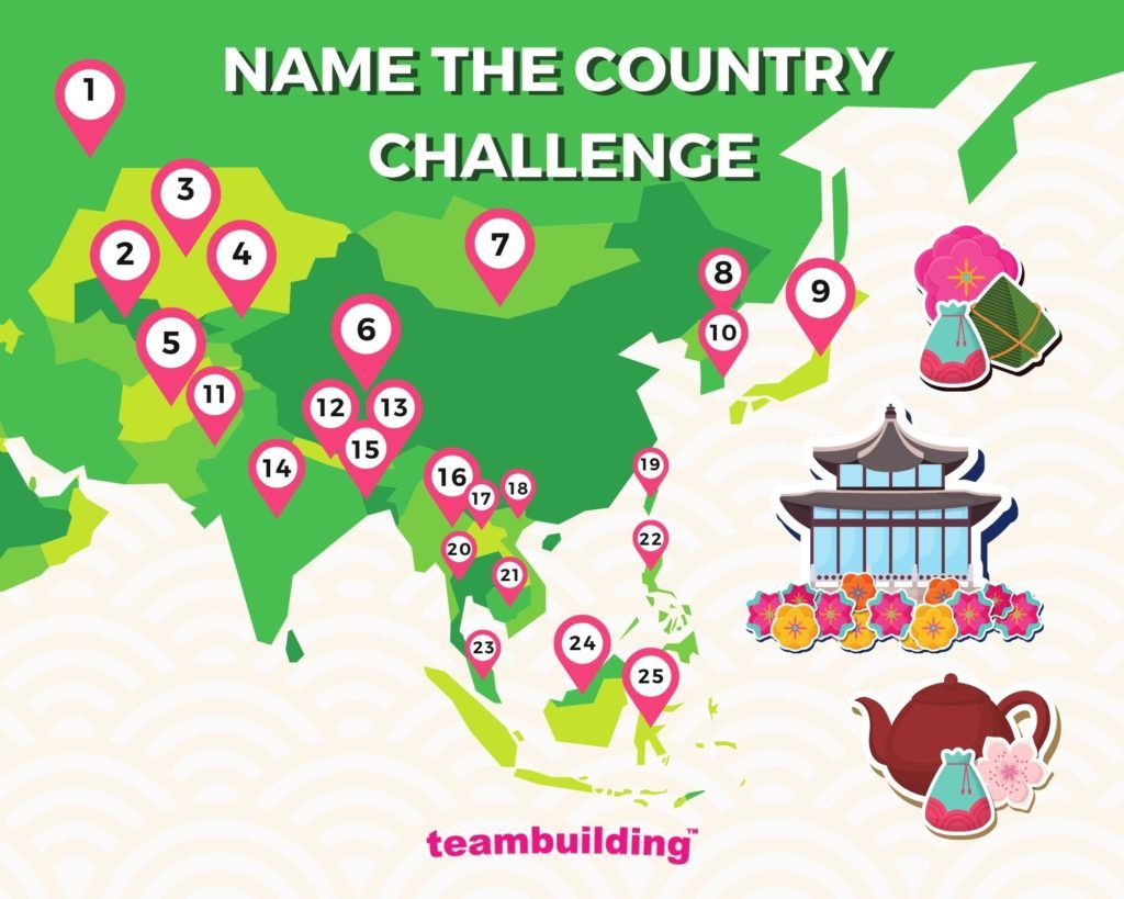 Name the country challenge
