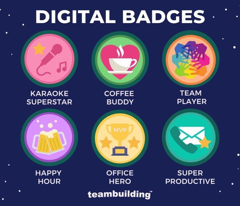 Virtual Campfire - Digital Badges