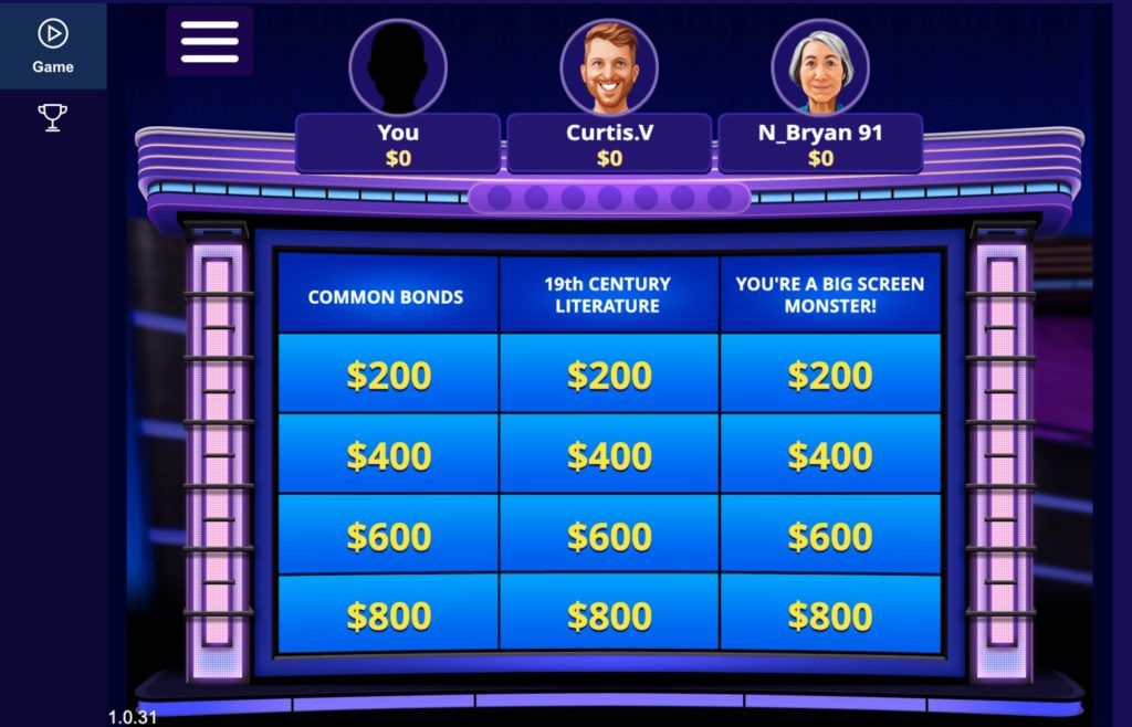 jeopardy computer game online