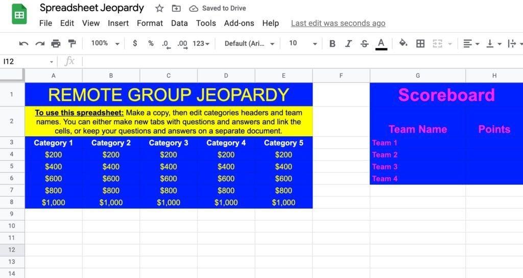 jeopardy spreadsheet
