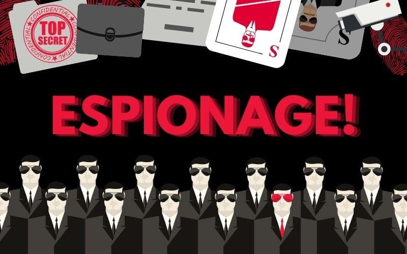 Espionage! banner