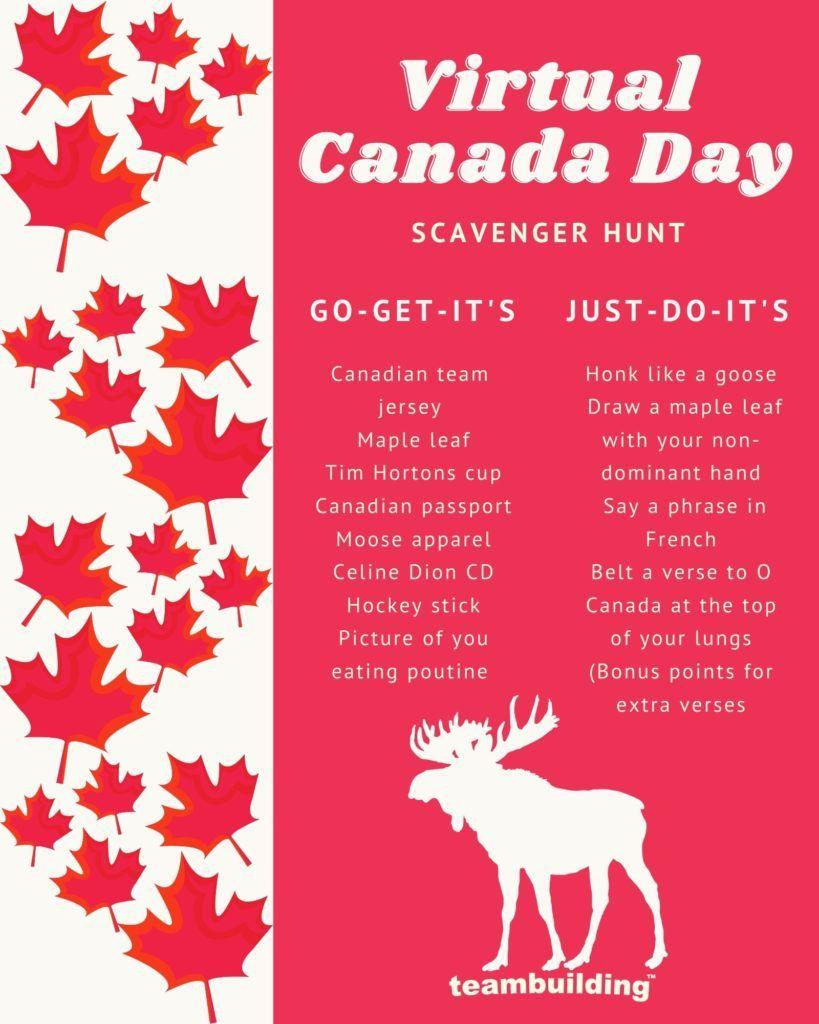 Canada Day Scav Hunt