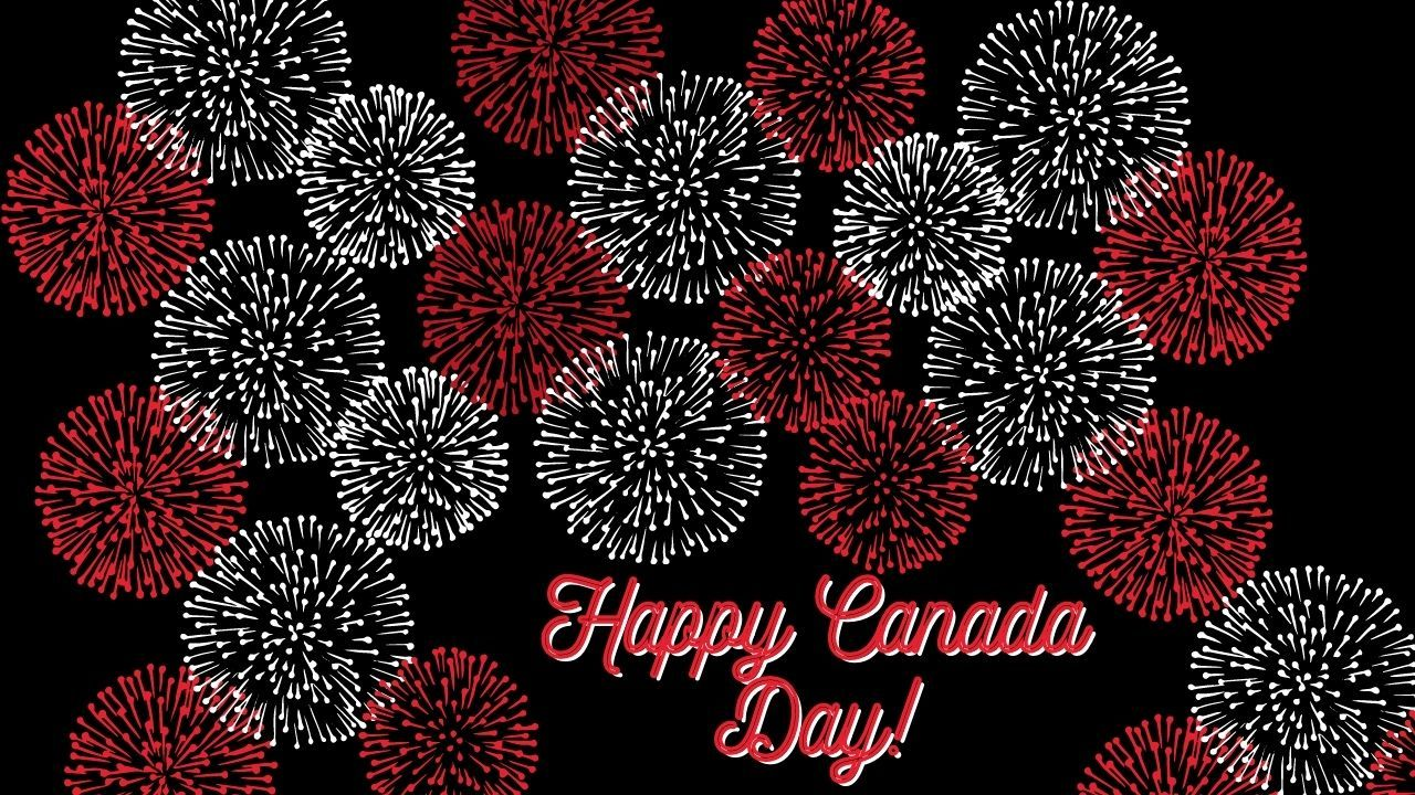 Canada Day Zoom background 3