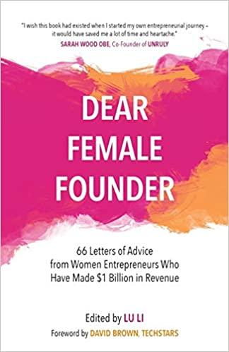 Dear Female Founder Book Cover