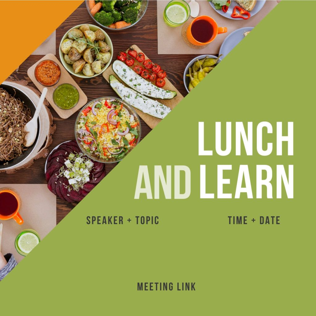 Lunch and Learn evite #1