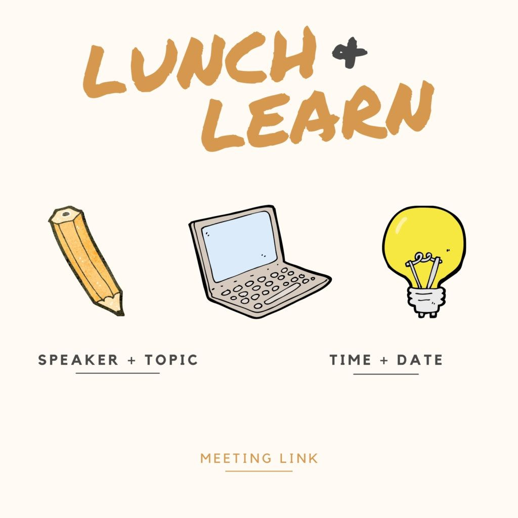 Lunch and Learn evite #2