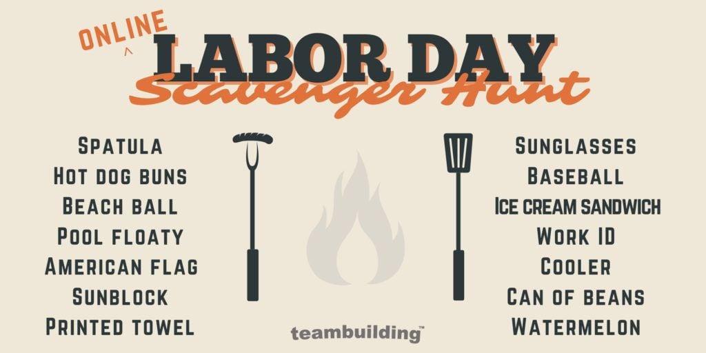 Virtual Labor Day_Scavenger Hunt