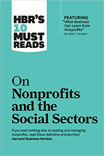 On Nonprofits and the Social Sector Book Cover