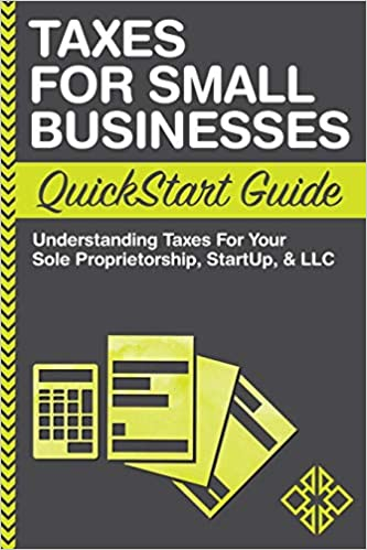 Taxes for Small Business Quickstart Guide Book Cover