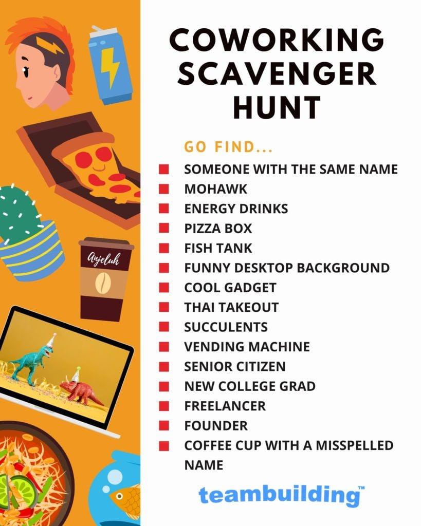 Coworking Scavenger Hunt Template
