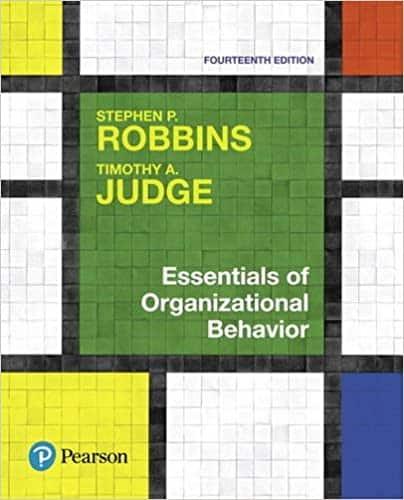 essentials of organizational behavior book cover