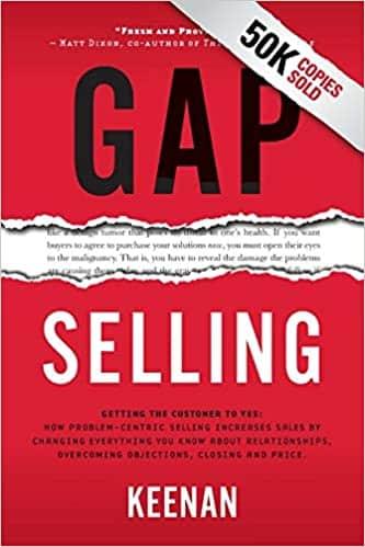 Gap Selling book cover