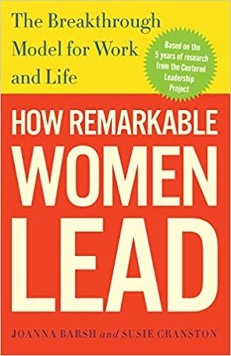 How remarkable women lead book cover