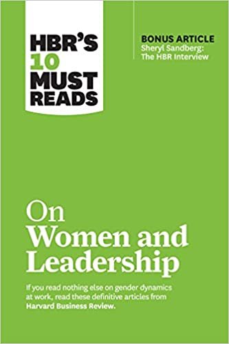 On women and leadership book cover