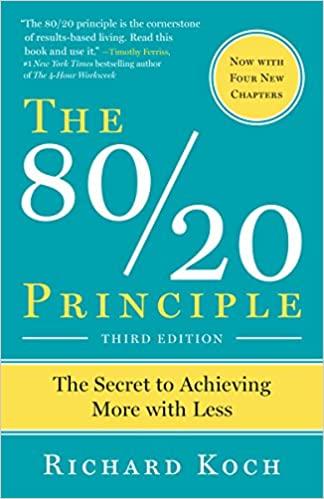 The 80:20 Principle book cover