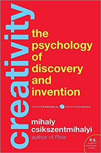 creativity the psychology of discovery and invention book cover