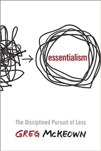 essentialism book cover