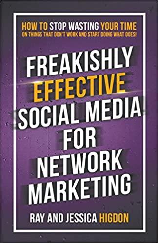 freakishly effective social media for network marketing book cover