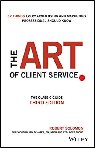 the art of client service book cover