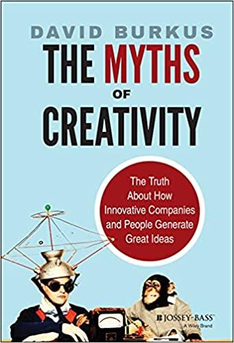 the myths of creativity book cover