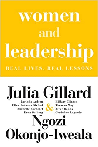 women and leadership book cover